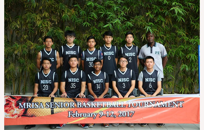 Senior Boys Basketball Team