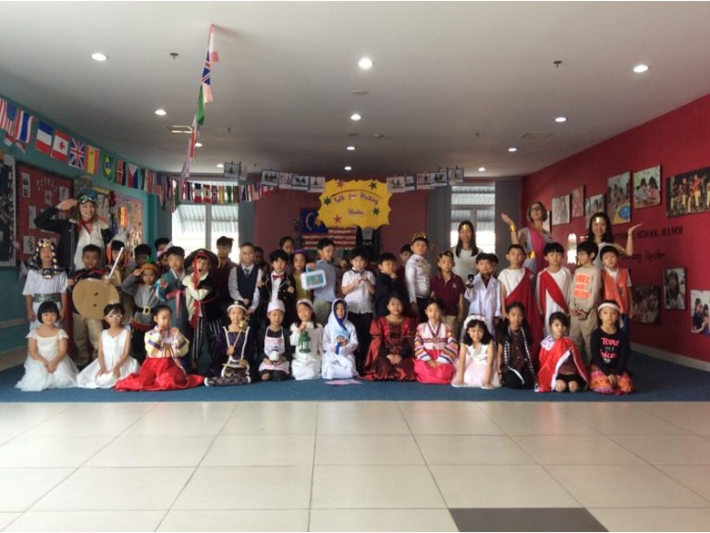 Britist International School Hanoi - Dressing up
