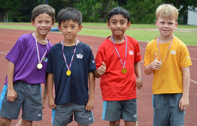 Dover Court International School Singapore, Year 3 House Champions Sports Day