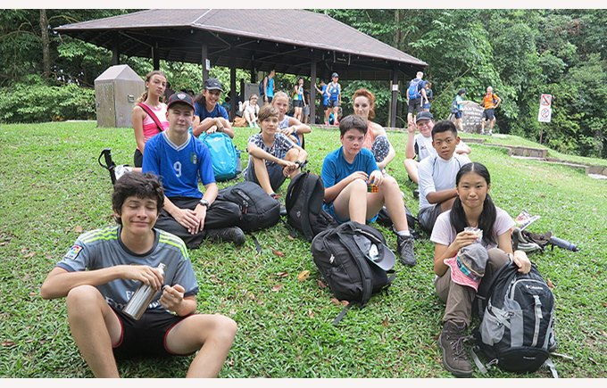 Les Martinets Training at Bukit Timah
