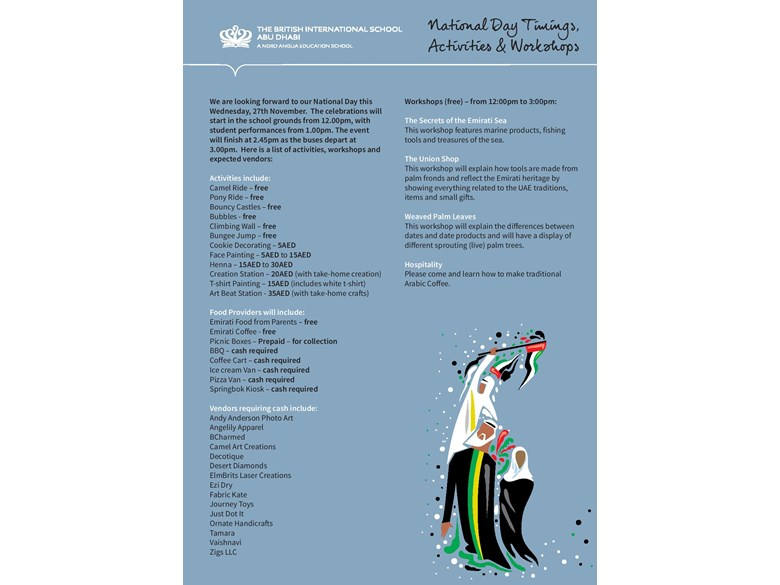 National Day Activities 2019
