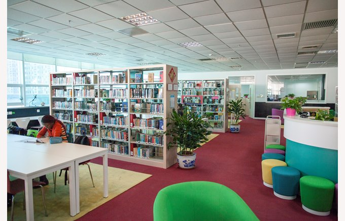 Secondary Library Photo