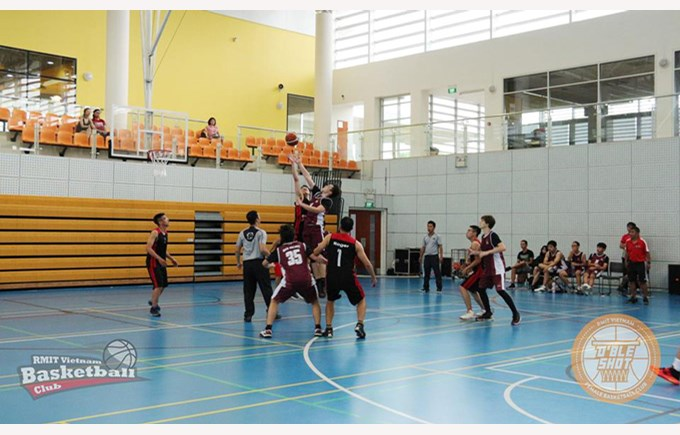 RMIT Basketball Open 2017 featuring BISHCMC 3