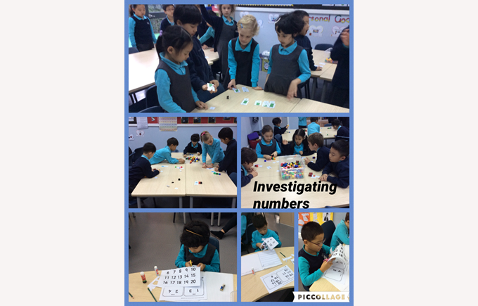 Investigating numbers in Year 2