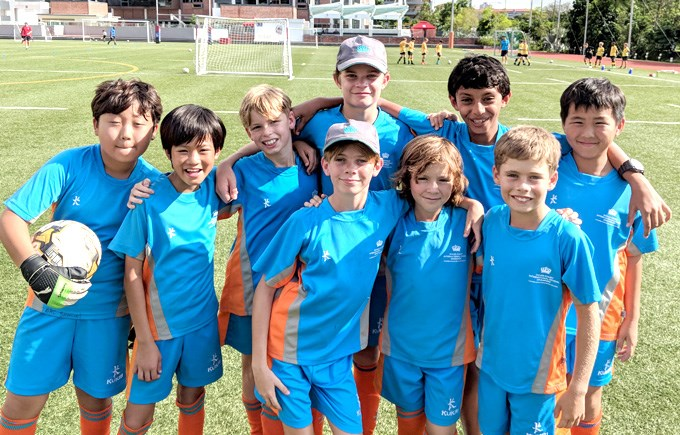 DCIS Under 11 Boys Football 'B' Team