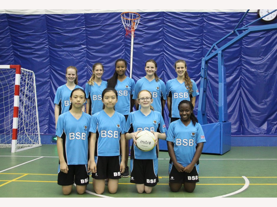 U13 Girls Netball Team 2