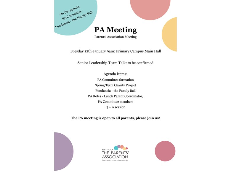 PA Meeting Poster_Jan 2016