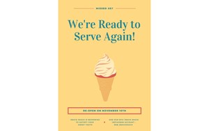 We're Ready to Serve Again! 540x329