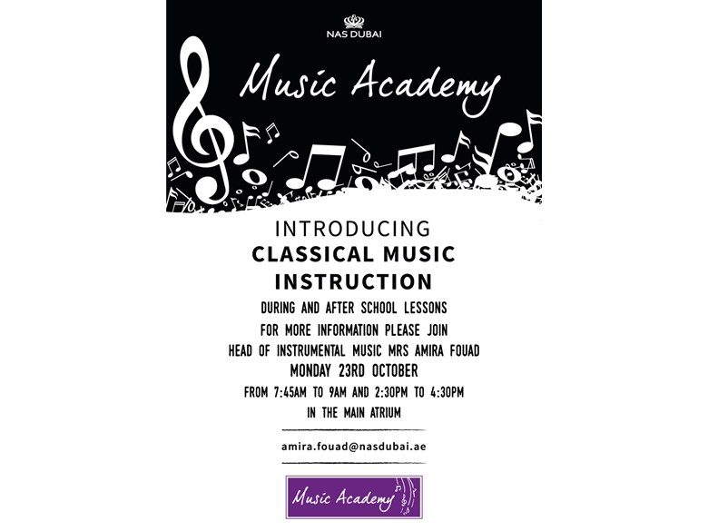 Music Academy Launch