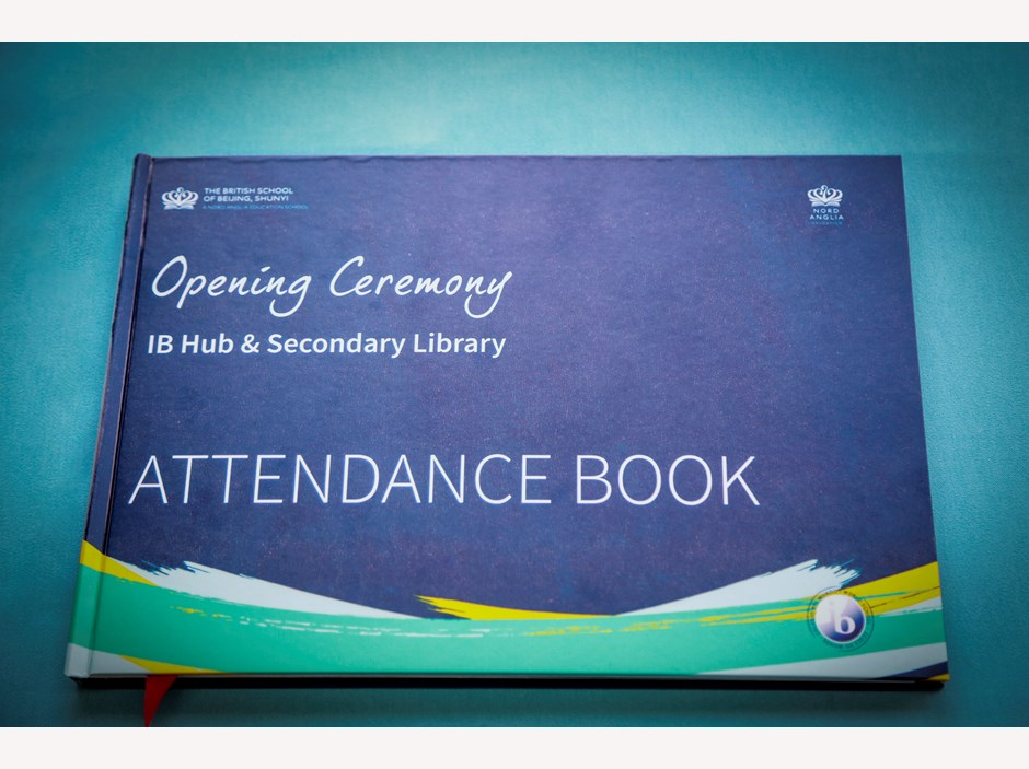BIB13975-Attendence Book outside