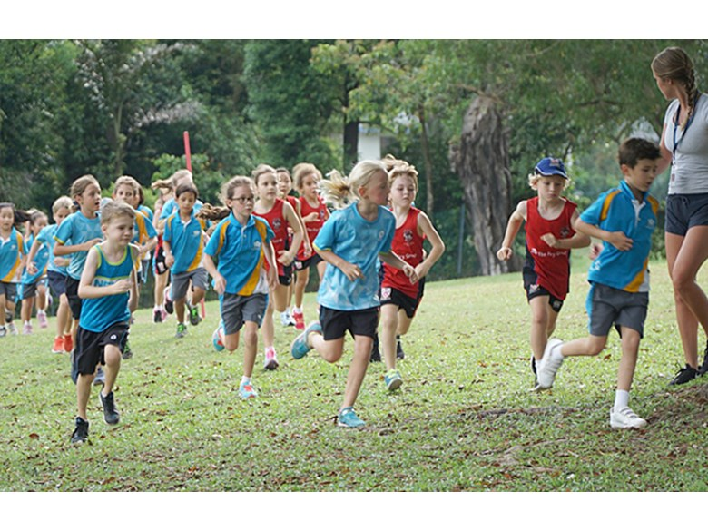 Fantastic Atmosphere at DCIS Junior Cross Country Meet