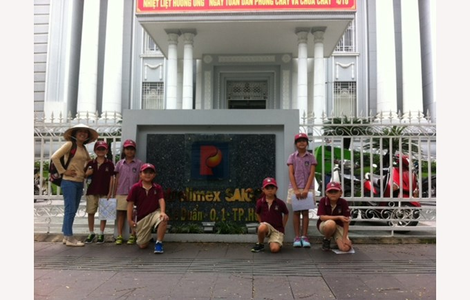 BIS Ho Chi Minh Year 4 Amazing Race Saigon - 6