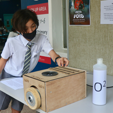 Dover Court International School Singapore, Mission MOXIE DCIS STEAM Challenge NAE blog Link
