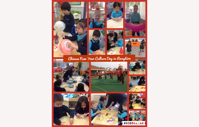 Reception learn about Chinese culture