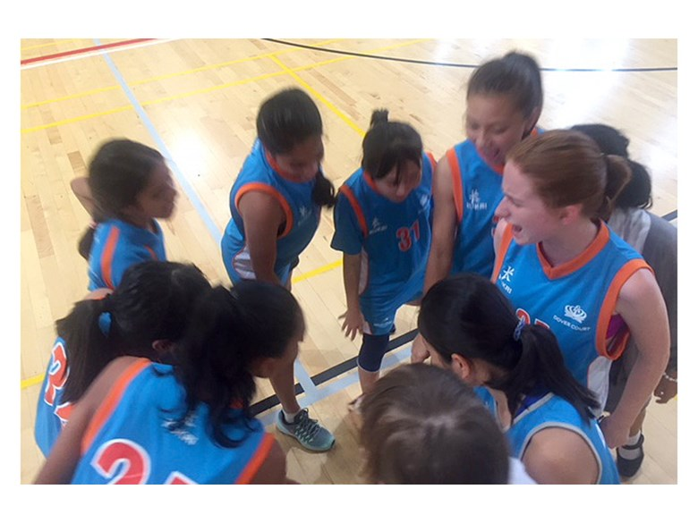Under 16 Girls Basketball Team