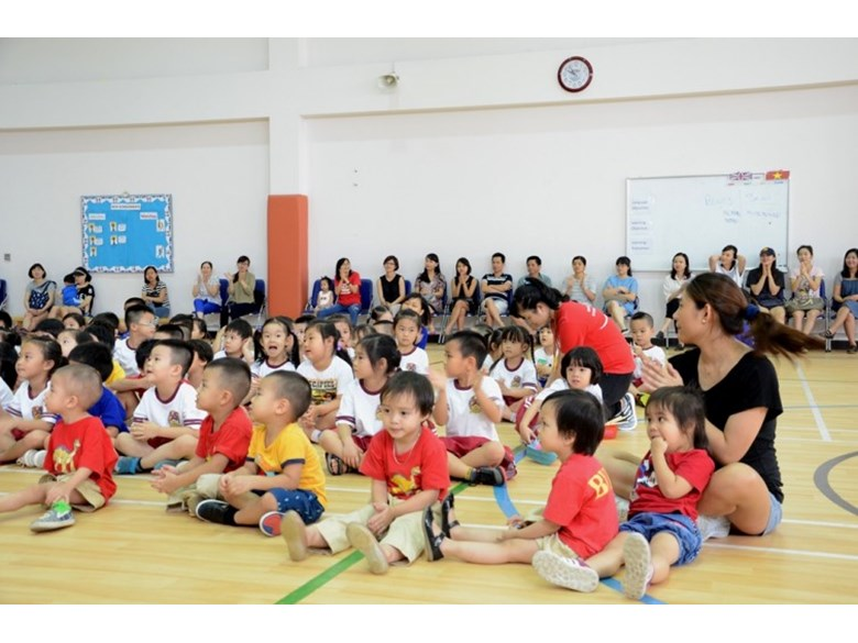 International Early Years School BVIS Hanoi Sports Day (8)