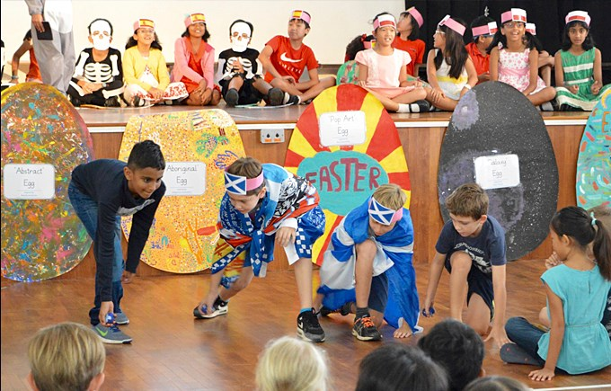 Easter Celebration at Upper Primary Assembly