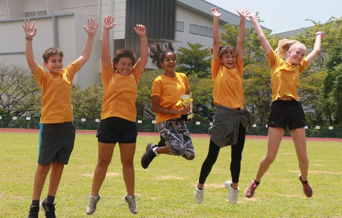 Dover Court International School Singapore, House Day Sports Newton