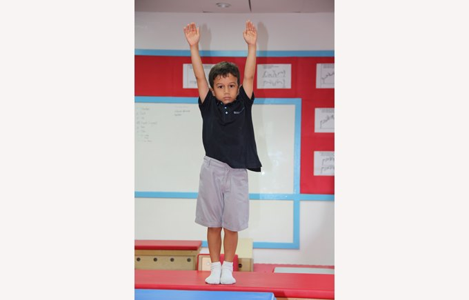 Could this be the Regents Pattaya first gymnastic champion?