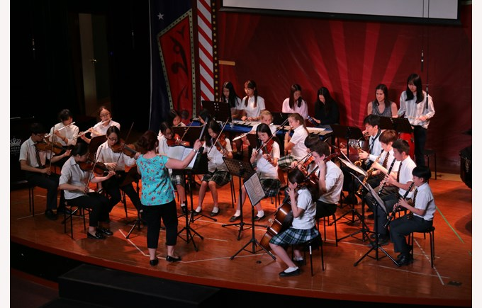01 - Sr Orchestra in KS3 Assembly