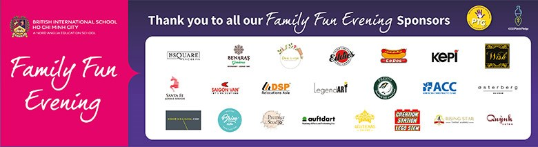 BIS HCMC Family Fun Evening Sponsors 2019