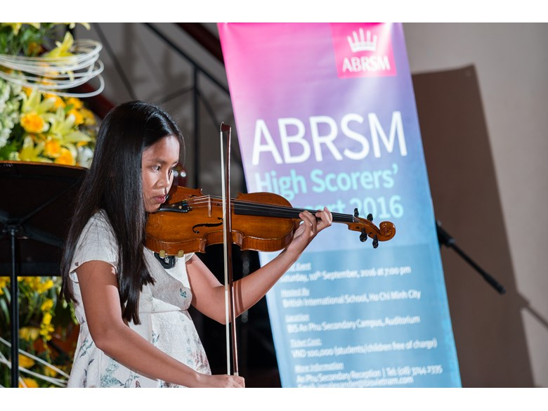 ABRSM High Scorers 2016 at BISHCMC 16