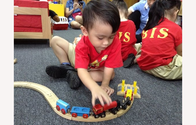 F1 and F2 - First Days in School at British International School, HCMC, Vietnam