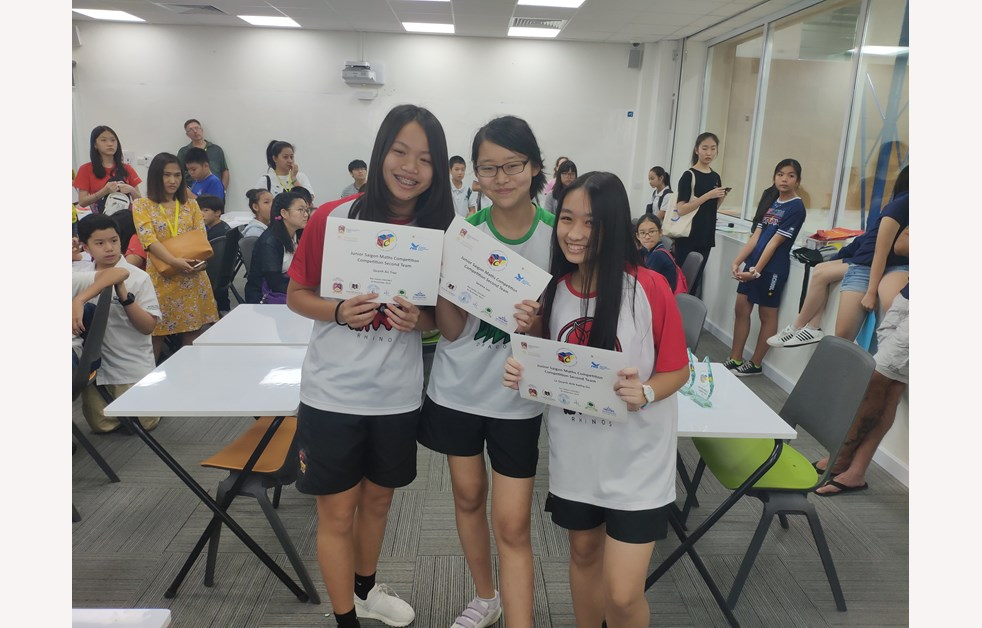 BIS HCMC Junior Saigon Mathematics Competition 2