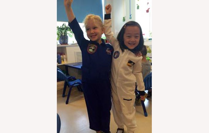 Space Day in Reception