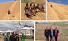 Year 8 groups in the desert and the grasslands in Inner Mongolia