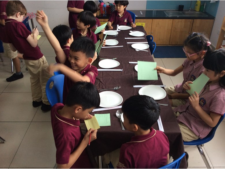 British International School Hanoi - Year 4 What's on the menu