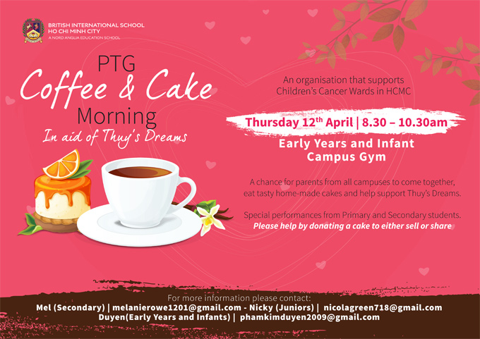 Coffee and Cake for Cancer