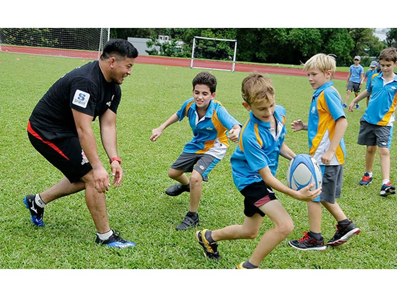 Sunwolves Rugby Session 2016