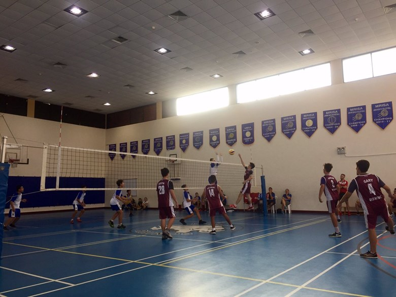 British International School, HCMC, versus ISHCMC U14 Boys Volleyball