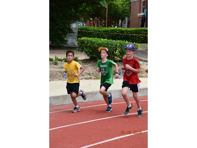 Regents Race 2015 at Regents International School Pattaya