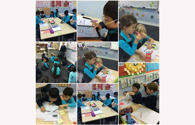 Busy bees in Year 3
