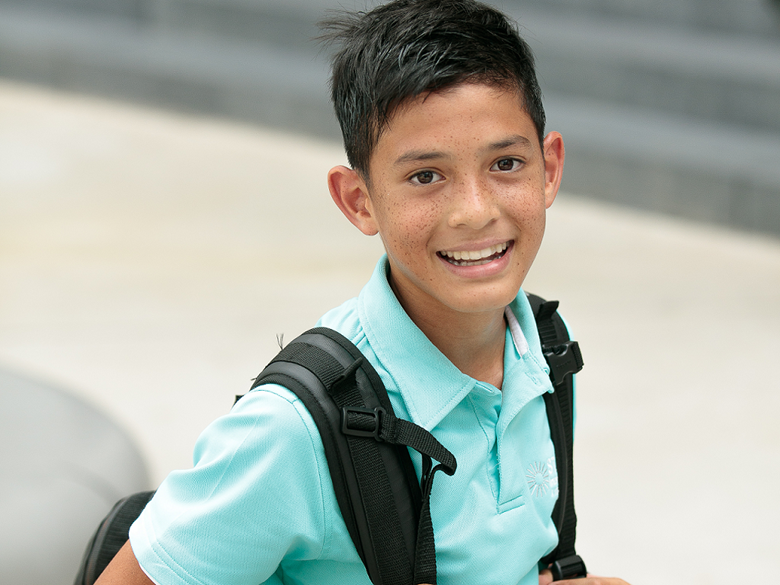 curricula image boy with backpack