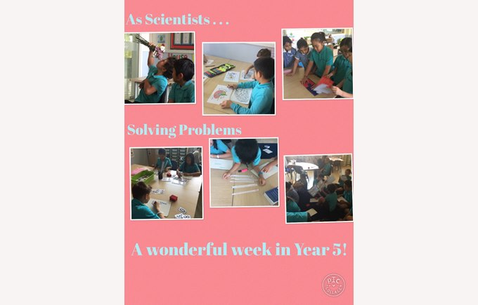 A wonderful week in Year 5