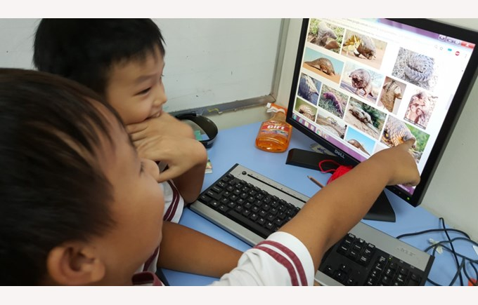Year 4 Learn about Endangered Species in Vietnam (8)