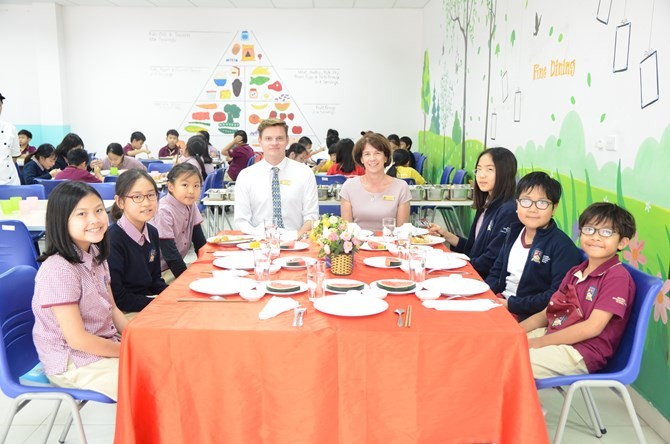 Britist International School Hanoi - Fine dining