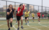 Key Stage 3 students at the British International School Shanghai, Puxi compete in their Sports Day