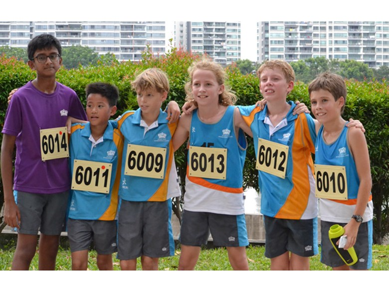 DCIS Under12 Boys ACSIS Cross Country Team