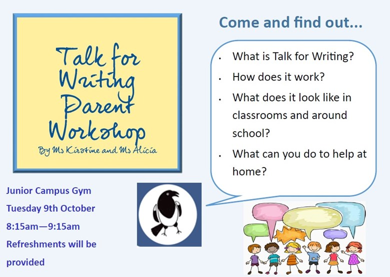 Parent Workshop Poster Junior