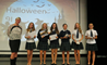 Year 9 at the British International School Shanghai, Puxi are awarded prizes for the best dystopian film