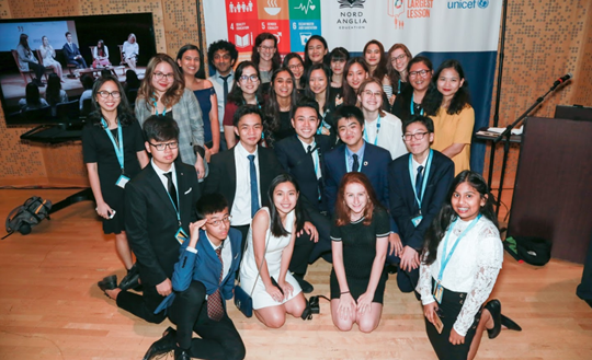 NAE-UNICEF Student Summit