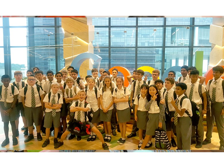 Secondary School visit to Google