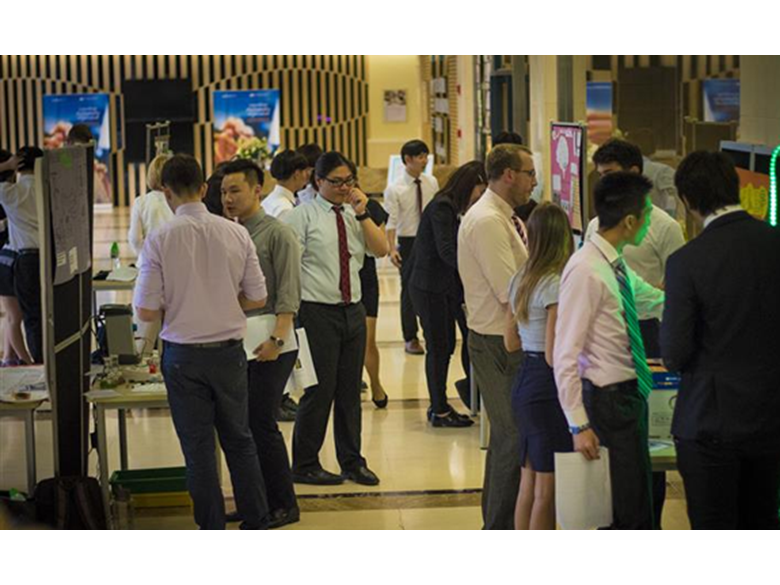 IB students at the British International School Shanghai, Puxi present their Group 4 Science Projects