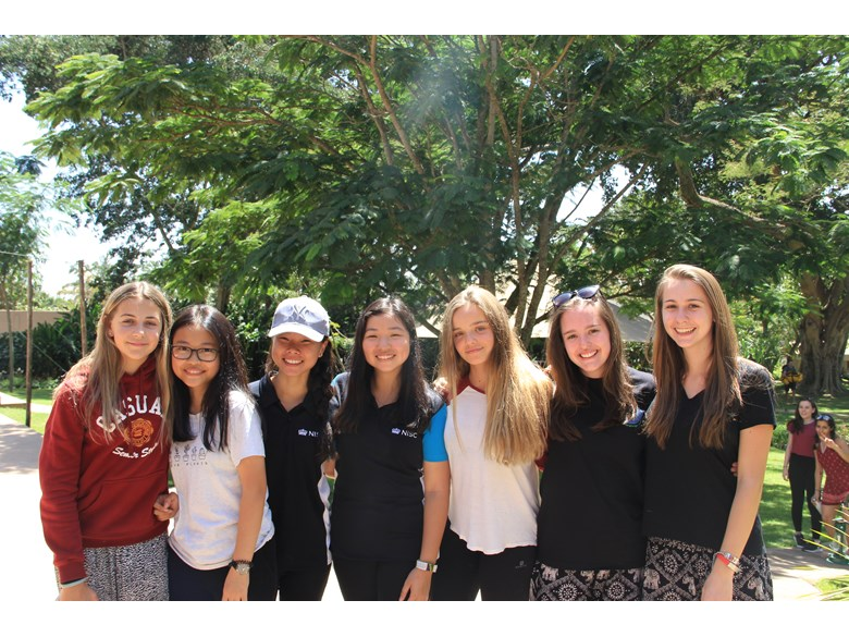 A mix of students from various Nord Anglia Schools