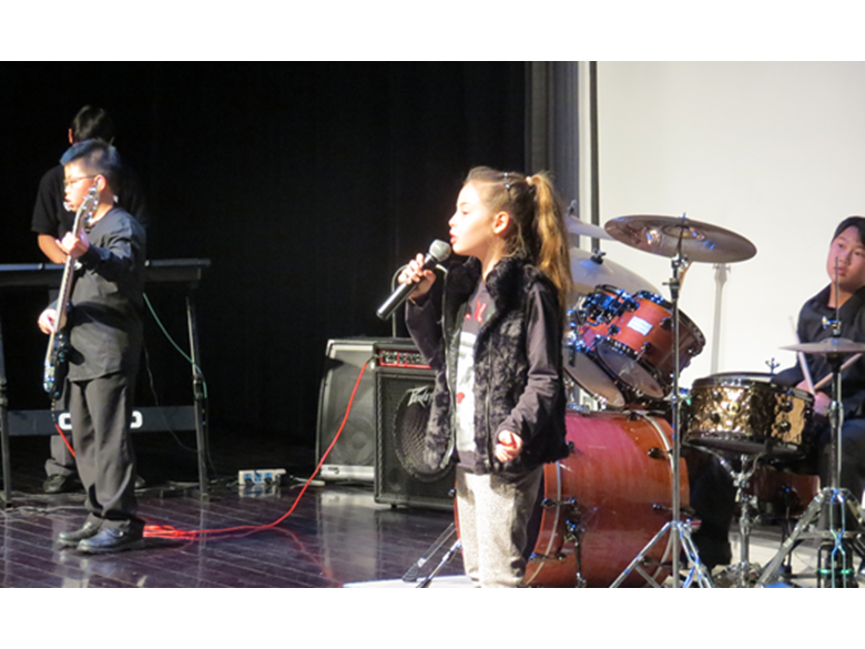Students at the British International School Shanghai, Puxi put on a talent show and silent auction to raise money for their projects in Tanzania.