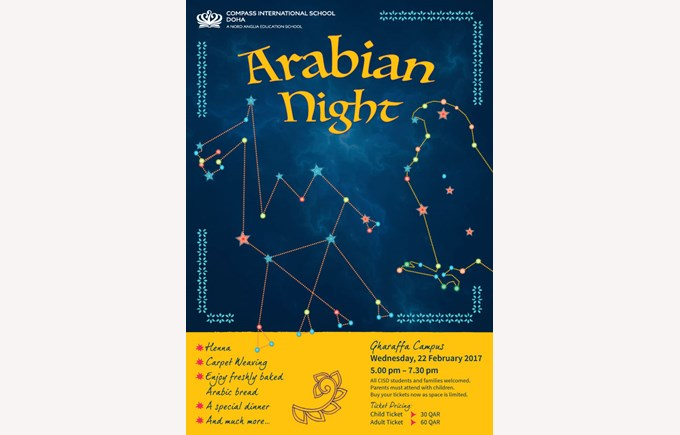 Arabian Night Poster